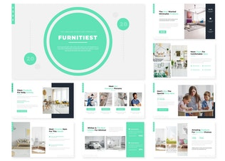 Thumbnail for Furnitiest | Powerpoint Template