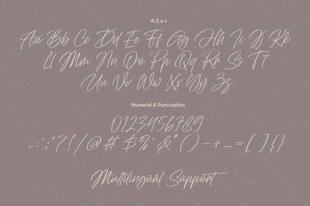 Abu Dhabi Signature Font - product preview 1