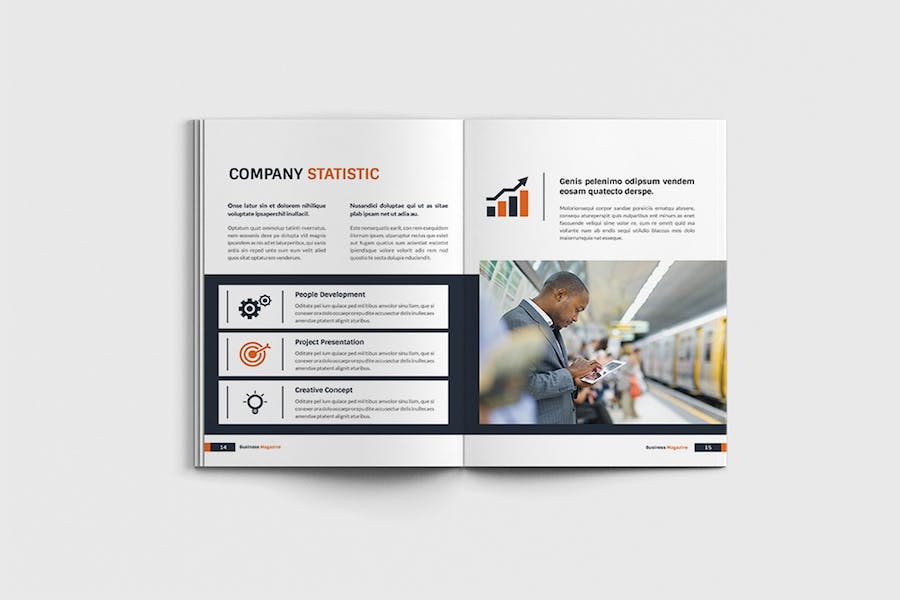 Workfice - A4 Business Brochure Template - product preview 7