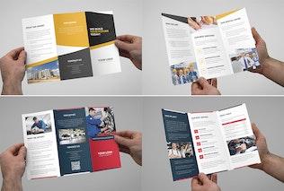 Thumbnail for Brochures – Multipurpose Tri-Fold Bundle vol. 1
