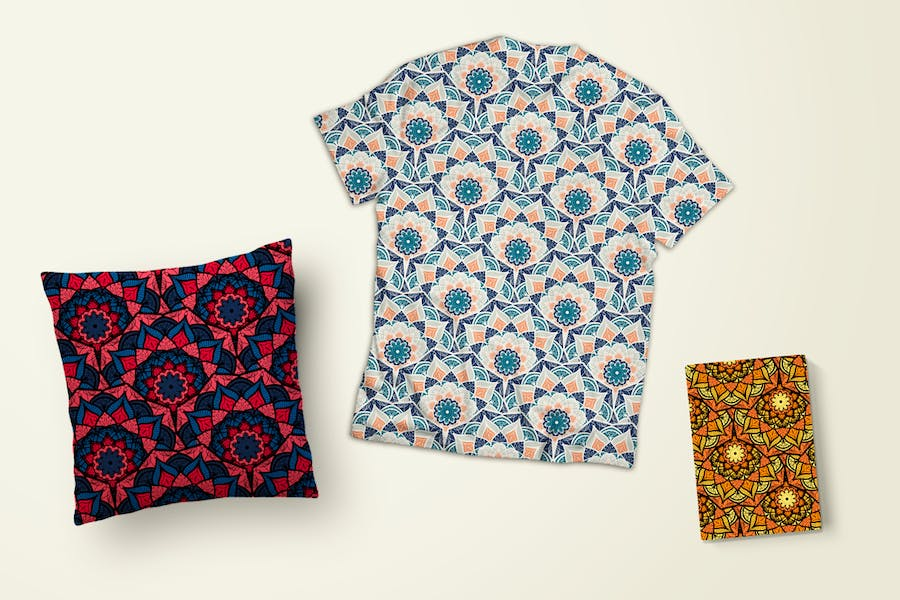 Orient Seamless Pattern - product preview 2