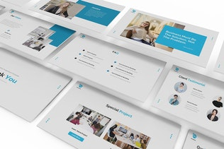 Thumbnail for Business Solution Google Slides Template