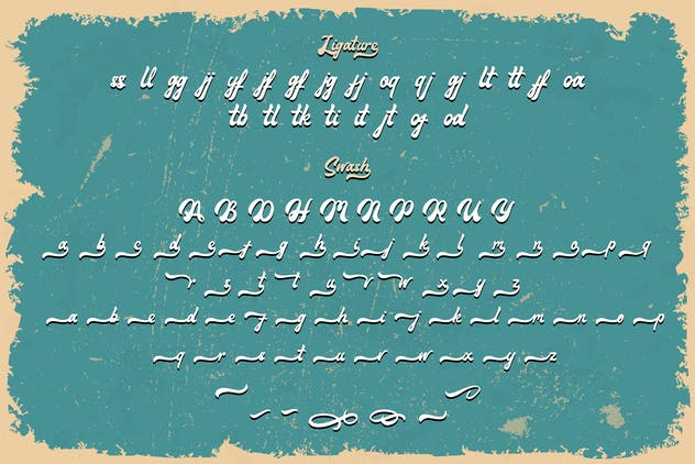Maimoonde - Modern Vintage Typeface Font - product preview 9