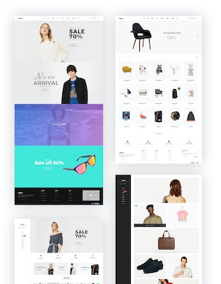 Thumbnail for Negan - Clean, Minimal WooCommerce Theme