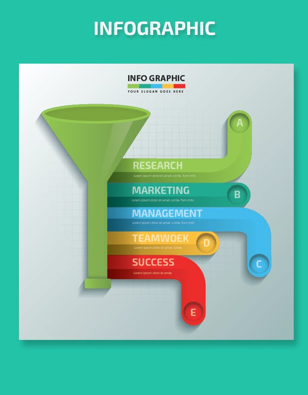 Funnel Infographics-Design - product preview 4