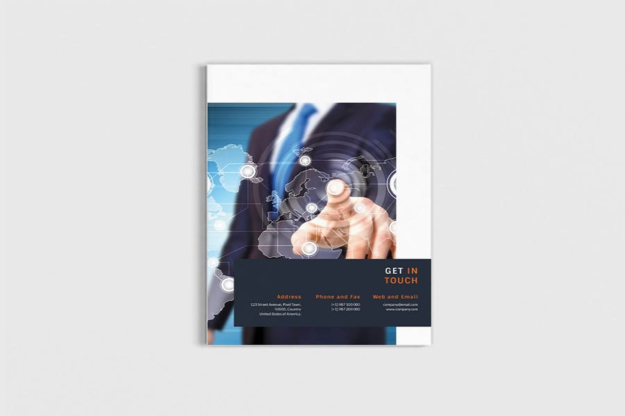 Workfice - A4 Business Brochure Template - product preview 11