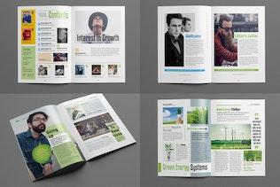 Thumbnail for Business/Multipurpose Magazine Template