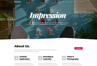 Thumbnail for Bagja - Responsive Multi Concept & One Page Portfo