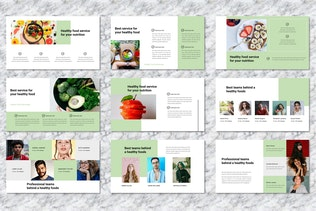 Thumbnail for Sauda -  Food & Beverages Powerpoint Templates
