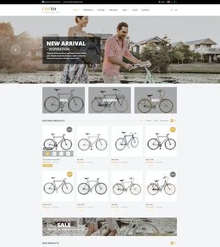 Miniature pour Cotto - Magasin de vélos Shopify Thème