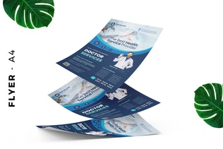 Facharzt/Medizinische Flyer Design
