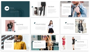 Thumbnail for Dozze - Fashion Powerpoint Template