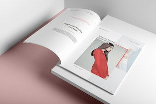 Portrait Brochure Mockup Vol. 1