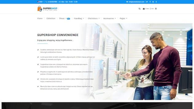 Super Shop | Multipurpose, MultiStore Shopify - product preview 6