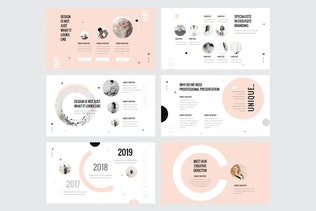 Thumbnail for UNIQUE - Powerpoint Template V132