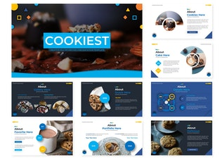 Миниатюра для Cookiest | Шаблон слайдов Google