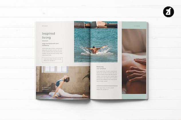 Healthy Lifestyle Magazine - product preview 5