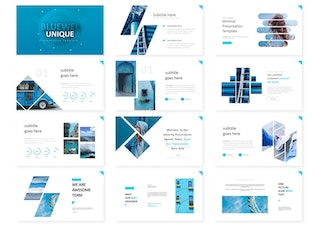 Thumbnail for Bluewel - Powerpoint Template