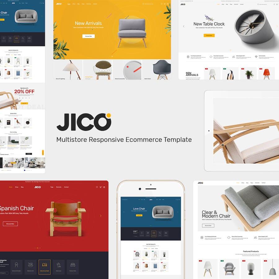 Jico - Furniture Responsive Prestashop Theme - product preview 1