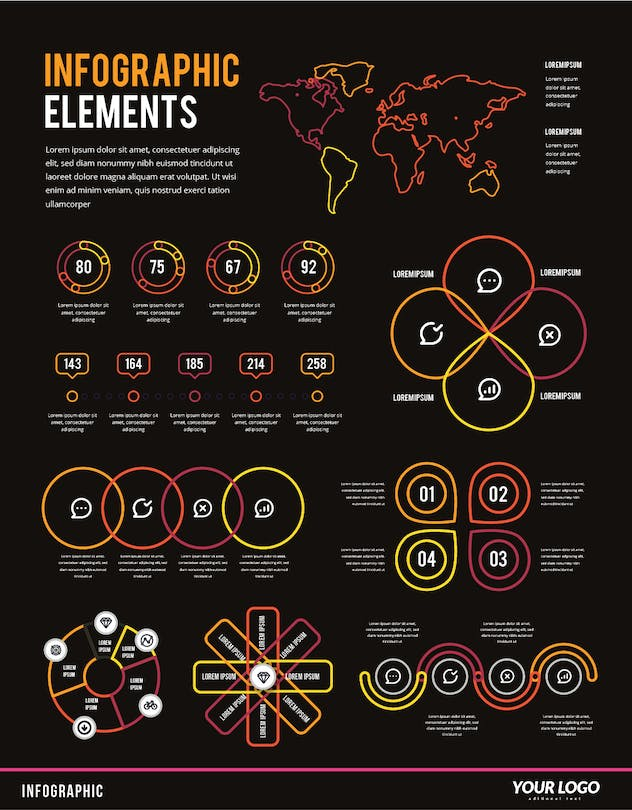 Infographic Examples for Designer V.49 - product preview 1