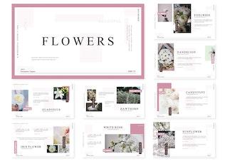 Flowers   Keynote Template