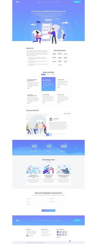 Thumbnail for ArrowIT - Technology, Digital WordPress Theme