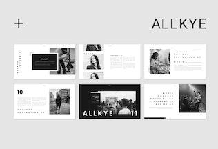 Thumbnail for Allkye Google Slides