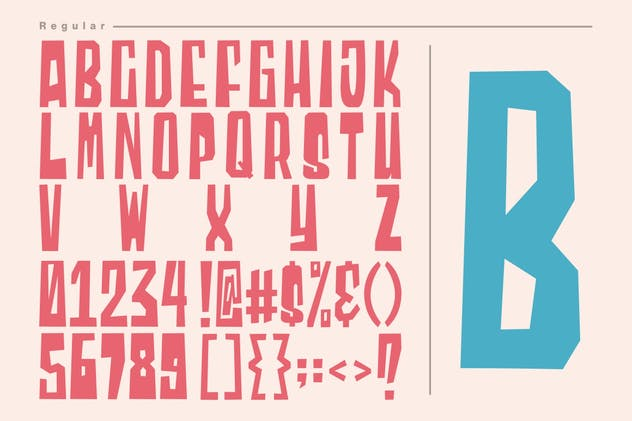Blocky | Display Font - product preview 3