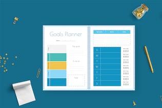 Thumbnail for Blue – Dietary Planner Journal