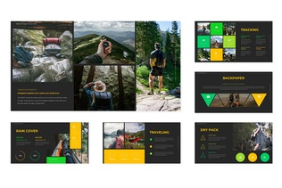 Montanage - Google Slide Template
