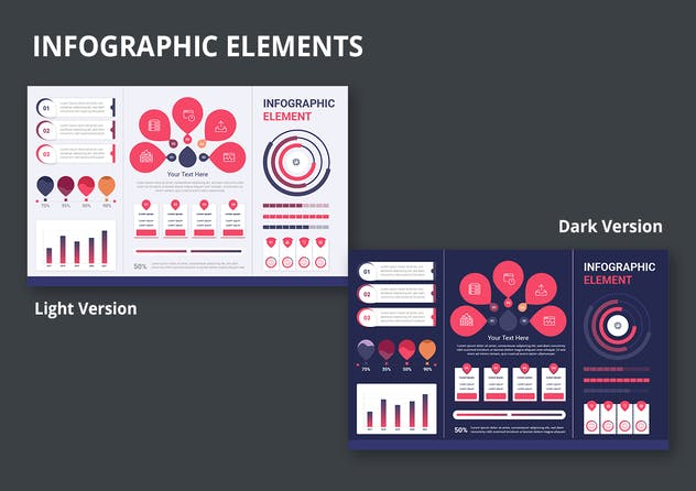 Infographic Examples for Designer V.19 - product preview 2