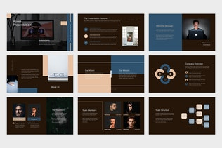 Thumbnail for Aorea : Socmed Marketing Pitch Deck Google Slides