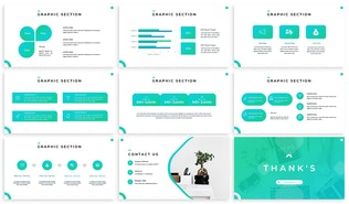 Thumbnail for Clovero - Business Keynote Template