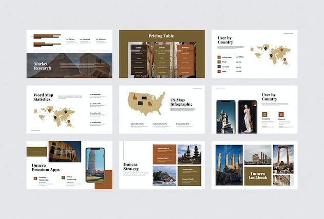 Dunera - Museum Google Slides Template - product preview 5