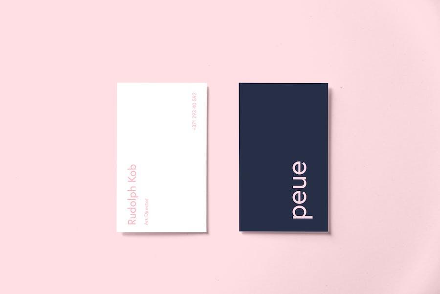 Preview image 15 for Peue - Реалистичный макап для визитных карточек