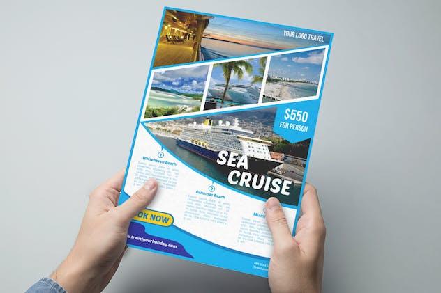 Travel Destination Flyer vol 3 - product preview 3