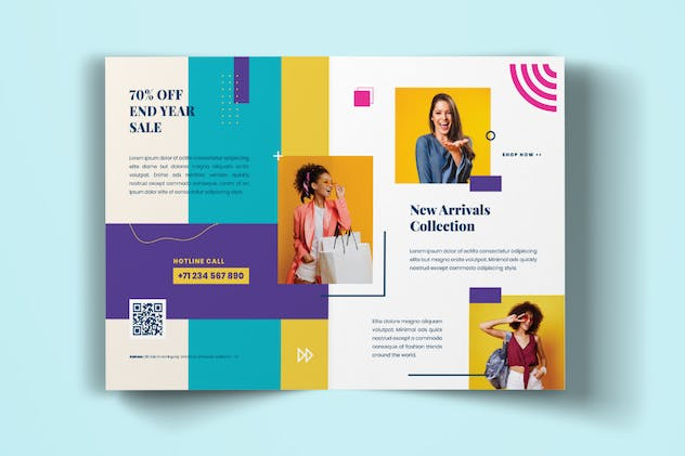 Fashion Sale BiFold Brochure - product preview 2