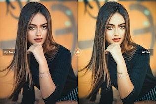 Stylish Portrait Pro Lightroom Preset