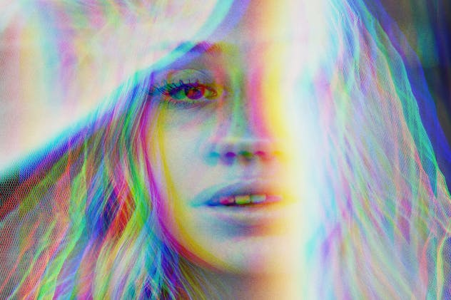 Anaglyph VHS Photo Effect - product preview 1