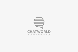Thumbnail for Chat World Logo