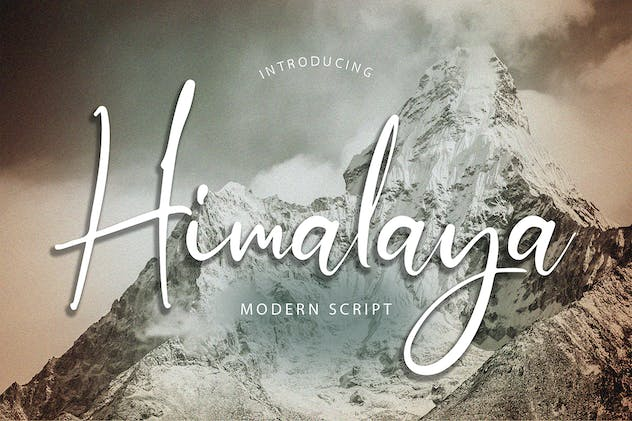 Himalaya Modern Script Font - product preview 5