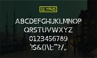 Thumbnail for Abang Typeface Font