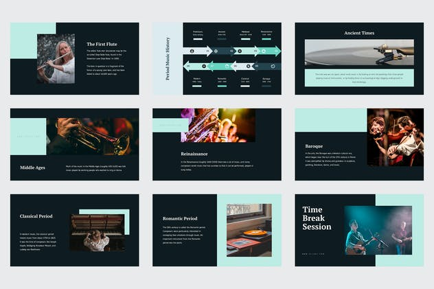Celoze - Learning About Music Powerpoint - product preview 2