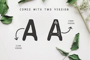 Thumbnail for SUPER - A Handwritten Sans Serif