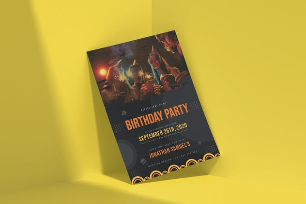 Happy Party | Birthday Invitation