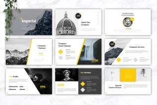 Thumbnail for IMPERIAL - Business PowerPoint Template