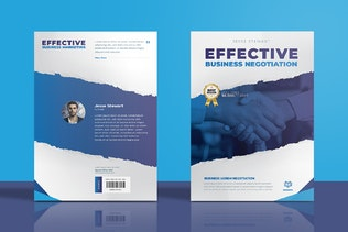 Thumbnail for Business Marketing Book Cover Template
