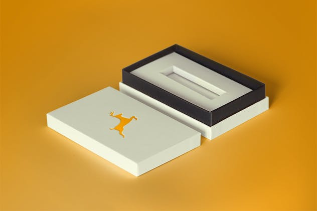 Open Product Box PSD Mock-up - product preview 1