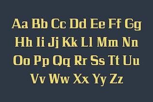 Miniatura para Calvin Slab Con serifa Familia tipográfica