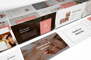Beauty Spa Keynote Template